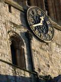 Reloj de la iglesia Imagenes de archivo