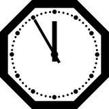 Reloj de la oficina. Imagen de archivo libre de regalías