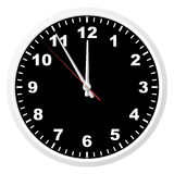 Reloj de la oficina. Fotos de archivo