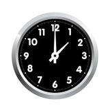 Reloj de la oficina. Vector Imagenes de archivo