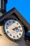 Reloj de la torre Imagenes de archivo