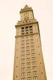 Reloj de la torre de aduanas Fotos de archivo