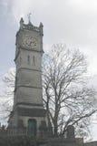 Reloj de la torre de la ciudad de Salisbury Imágenes de archivo libres de regalías