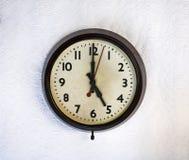 Reloj de la vendimia imagen de archivo