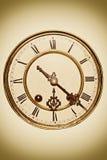 Reloj de la vendimia Imagen de archivo libre de regalías
