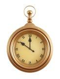 Reloj de la vendimia Foto de archivo libre de regalías