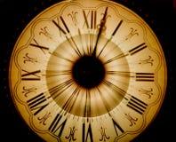 Reloj de la vendimia enmascarado adentro Fotografía de archivo libre de regalías