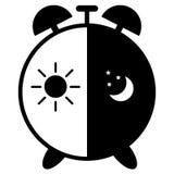 Reloj de los ejemplos del vector aislado ilustración del vector