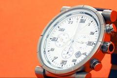 Reloj de los hombres Fotografía de archivo libre de regalías