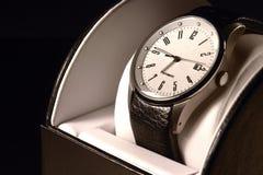 Reloj de los hombres Fotografía de archivo
