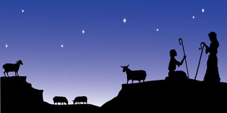Reloj de los pastores libre illustration