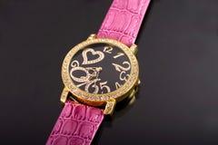Reloj de lujo Foto de archivo libre de regalías