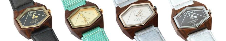 Reloj de lujo en almacén Fotos de archivo