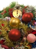 Reloj de medianoche Fotos de archivo libres de regalías