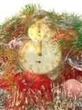 Reloj de medianoche Imagenes de archivo