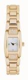 Reloj de oro de la mujer Imagen de archivo libre de regalías