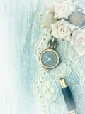 Reloj de oro, femenino Imagen de archivo