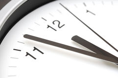 Reloj de pared Imagenes de archivo