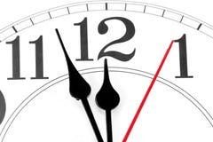 Reloj de pared foto de archivo libre de regalías