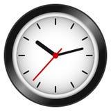 Reloj de pared Imágenes de archivo libres de regalías