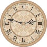 Reloj de pared antiguo Fotos de archivo libres de regalías