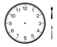 Reloj de pared clásico en la pared Foto de archivo