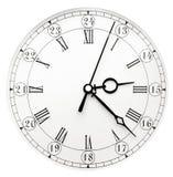 Reloj de pared de la vendimia Foto de archivo libre de regalías