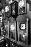 Reloj de pared de las antigüedades Imagen de archivo