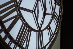 reloj de pared grande del vintage fotografía de archivo
