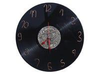 Reloj de pared hecho en casa Fotos de archivo libres de regalías