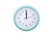 Reloj de pared redondo Fotos de archivo