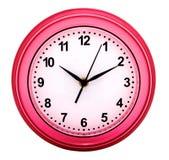 Reloj de pared redondo Foto de archivo libre de regalías