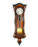 Reloj de pared viejo imágenes de archivo libres de regalías