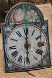 Reloj de pared viejo Fotos de archivo libres de regalías