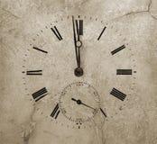 Reloj de piedra Foto de archivo libre de regalías