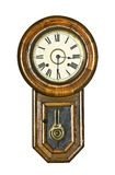 Reloj de péndulo de la vendimia Foto de archivo libre de regalías