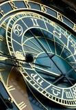 Reloj de Praga Imágenes de archivo libres de regalías