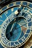 Reloj de Praga Foto de archivo