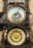 Reloj de Praga Imagen de archivo