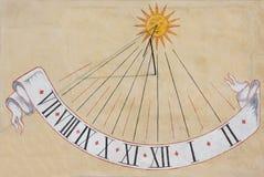 Reloj de sol Fotos de archivo libres de regalías