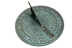 Reloj de sol imagen de archivo