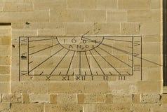 Reloj de sol Imagenes de archivo