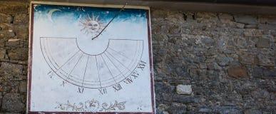 Reloj de sol antiguo imágenes de archivo libres de regalías