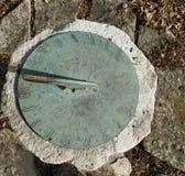 Reloj de sol de bronce Fotografía de archivo libre de regalías