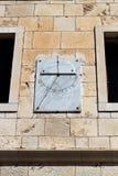 Reloj de sol de mármol Imagen de archivo