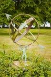 Reloj de sol del jardín del vintage Fotografía de archivo