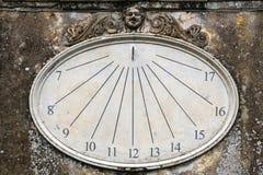 Reloj de sol - Labro, Rieti - Italia fotos de archivo libres de regalías