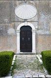 Reloj de sol - Labro, Rieti - Italia fotos de archivo