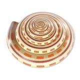 Reloj de sol Shell de Architectonica Perspectiva Foto de archivo