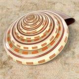 Reloj de sol Shell de Architectonica Perspectiva Fotos de archivo libres de regalías